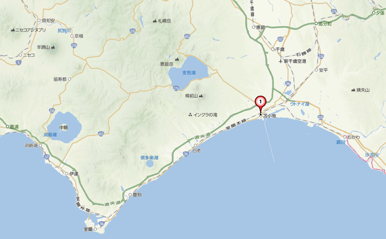 北海道胆振地方